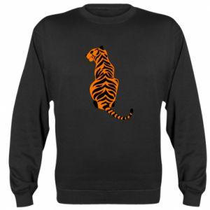 Sweatshirt Tiger sitting