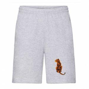 Men's shorts Tiger sitting