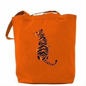 Bag Tiger sitting
