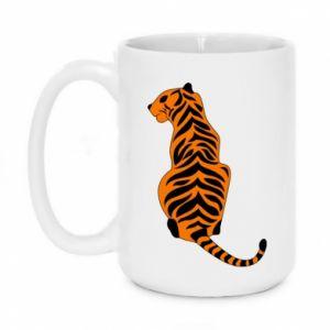 Kubek 450ml Siedzi tygrys