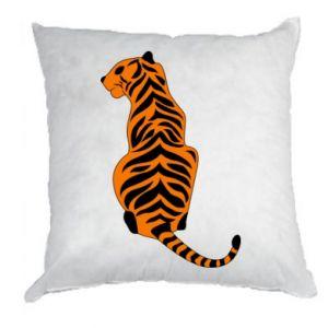 Pillow Tiger sitting