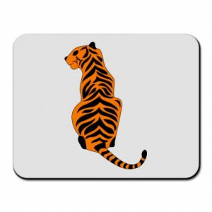 Mouse pad Tiger sitting