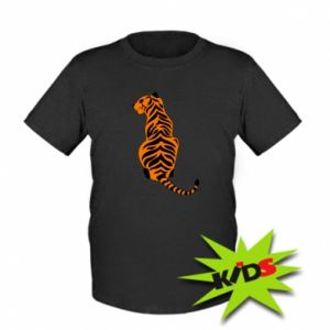 Kids T-shirt Tiger sitting