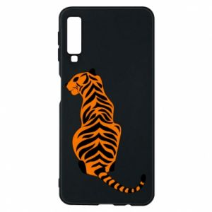 Phone case for Samsung A7 2018 Tiger sitting