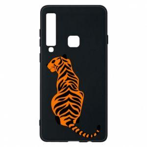 Etui na Samsung A9 2018 Siedzi tygrys