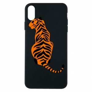 Phone case for iPhone Xs Max Tiger sitting