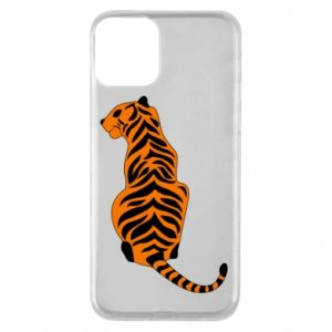 Phone case for iPhone 11 Tiger sitting