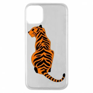 Phone case for iPhone 11 Pro Tiger sitting
