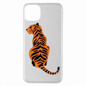 Phone case for iPhone 11 Pro Max Tiger sitting