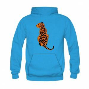 Kid's hoodie Tiger sitting