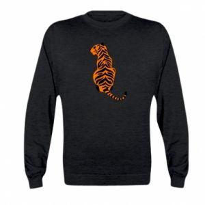 Kid's sweatshirt Tiger sitting