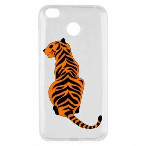 Xiaomi Redmi 4X Case Tiger sitting