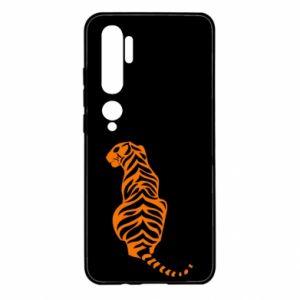 Xiaomi Mi Note 10 Case Tiger sitting