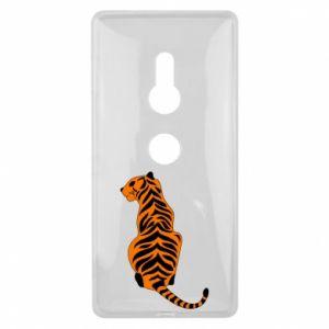 Sony Xperia XZ2 Case Tiger sitting