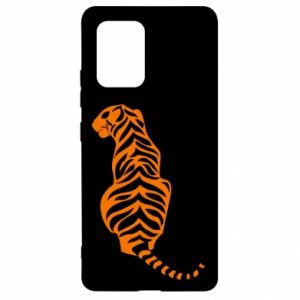Samsung S10 Lite Case Tiger sitting