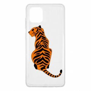 Samsung Note 10 Lite Case Tiger sitting