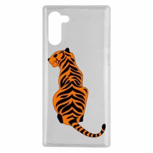 Samsung Note 10 Case Tiger sitting