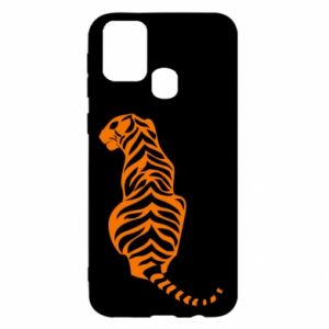 Samsung M31 Case Tiger sitting