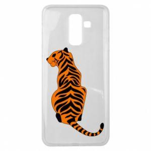 Samsung J8 2018 Case Tiger sitting