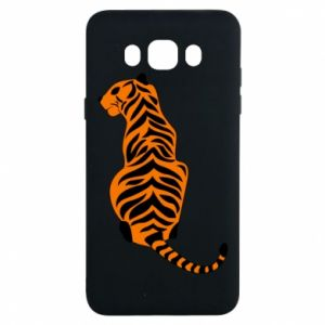 Samsung J7 2016 Case Tiger sitting