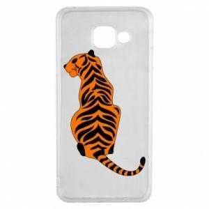 Samsung A3 2016 Case Tiger sitting