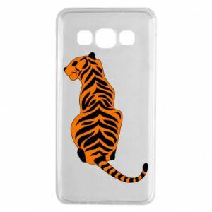 Samsung A3 2015 Case Tiger sitting