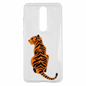 Nokia 5.1 Plus Case Tiger sitting