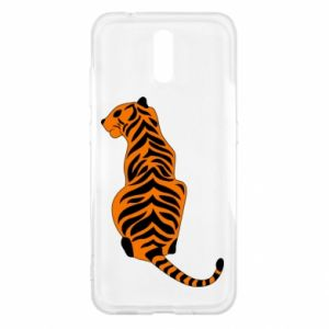 Nokia 2.3 Case Tiger sitting
