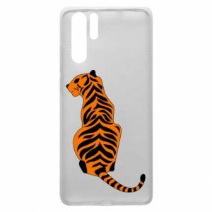 Huawei P30 Pro Case Tiger sitting