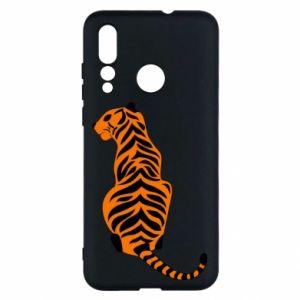 Huawei Nova 4 Case Tiger sitting