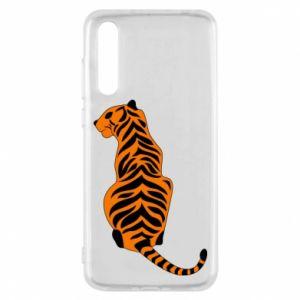 Huawei P20 Pro Case Tiger sitting
