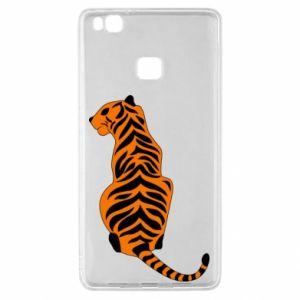 Huawei P9 Lite Case Tiger sitting