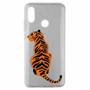 Huawei Honor 10 Lite Case Tiger sitting