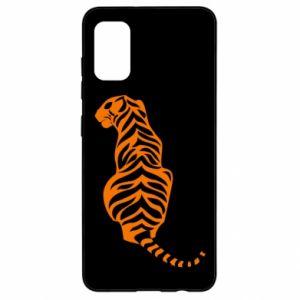 Samsung A41 Case Tiger sitting