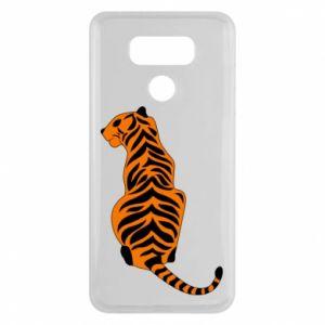 LG G6 Case Tiger sitting