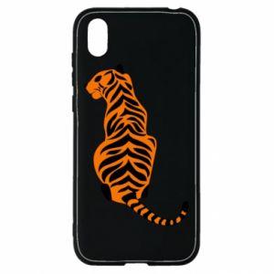 Huawei Y5 2019 Case Tiger sitting