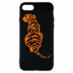 iPhone SE 2020 Case Tiger sitting