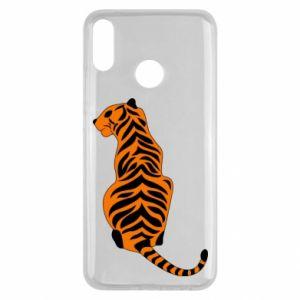 Huawei Y9 2019 Case Tiger sitting