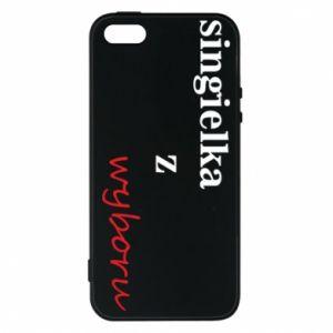 Phone case for iPhone 5/5S/SE Single by choice - PrintSalon