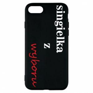 Phone case for iPhone 8 Single by choice - PrintSalon