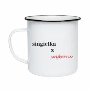 Enameled mug Single by choice - PrintSalon