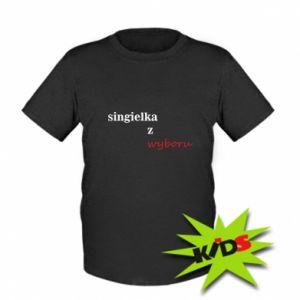Kids T-shirt Single by choice - PrintSalon