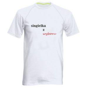 Men's sports t-shirt Single by choice - PrintSalon