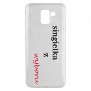 Phone case for Samsung J6 Single by choice - PrintSalon
