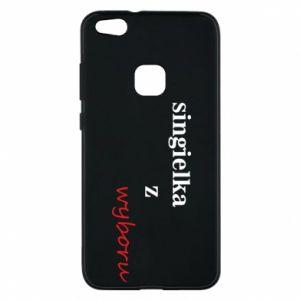 Phone case for Huawei P10 Lite Single by choice - PrintSalon