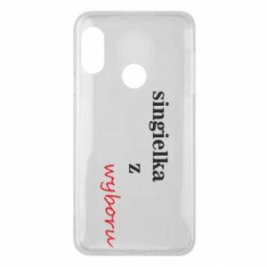 Phone case for Mi A2 Lite Single by choice - PrintSalon