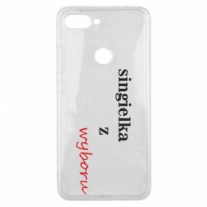 Phone case for Xiaomi Mi8 Lite Single by choice - PrintSalon