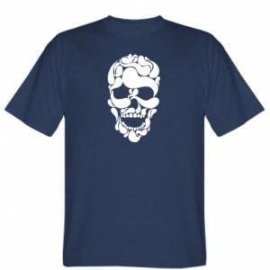 T-shirt Skull brush