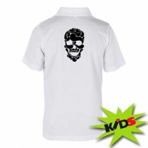 Children's Polo shirts Skull brush