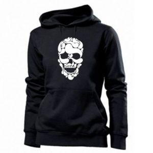 Women's hoodies Skull brush